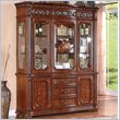 ADD TO YOUR SET: Wynwood Cordoba China Cabinet in Burnished Pine Finish