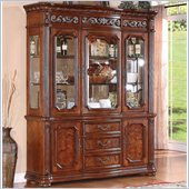 Wynwood Cordoba China Cabinet in Burnished Pine Finish