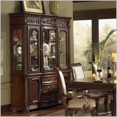Wynwood Granada China Cabinet in Cordillera Pine Finish