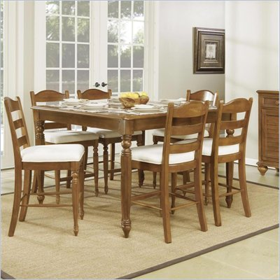 Wynwood Hadley Pointe Gathering Table in Honey Pine