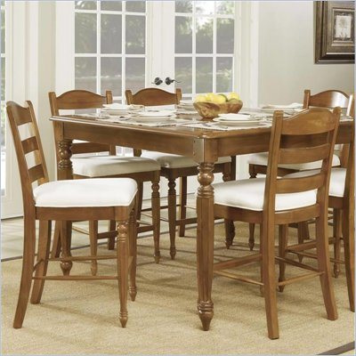 Wynwood Hadley Pointe Counter Stool in Honey Pine