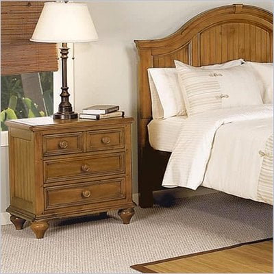 Wynwood Hadley Pointe Nightstand in Honey Pine
