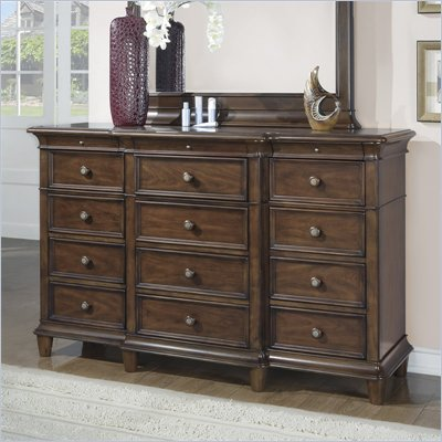 Wynwood Hathaway Triple Dresser in Grand Manier Cherry