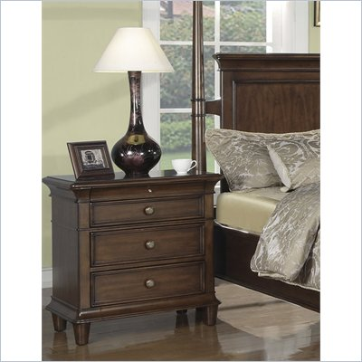 Wynwood Hathaway Nightstand in Grand Manier Cherry