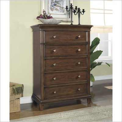Wynwood Hathaway 5 Drawer Chest in Grand Manier Cherry