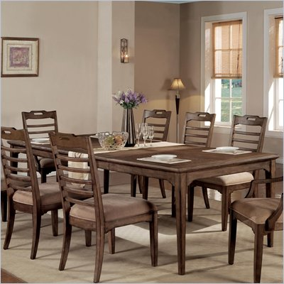 Wynwood Newberry Rectangular Dining Table in Antique Oak Finish