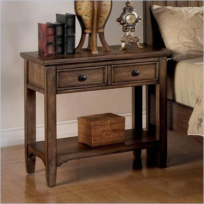 Wynwood Newberry Night Stand in Antique Oak Finish