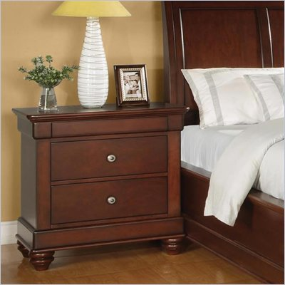 Wynwood Olmstead Nightstand in Nutmeg Finish