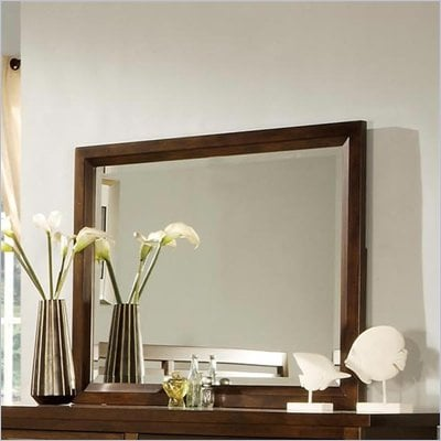 Wynwood SBH Landscape Mirror in Tobacco Finish