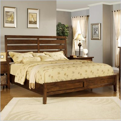 Wynwood SBH Bed in Tobacco Finish