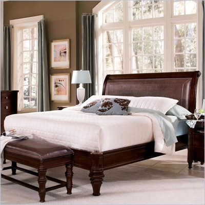 Wynwood Sutton Place Bed in Espresso Finish