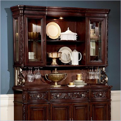 Wynwood Terrassa Hutch in Chestnut Cherry