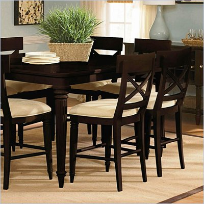 Wynwood Tuxedo Park Gathering Stool in Dark Chocolate