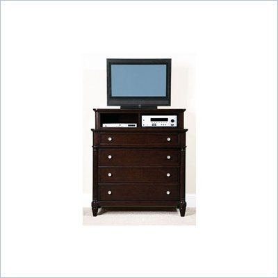 Wynwood Tuxedo Park Media Chest with Deck