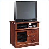 SauderTV Cabinet with Storage in Cherry Finish