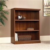 3-Shelf Bookcase in Planked Cherry Finish