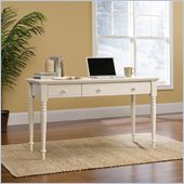 Harbor View Collection Wood Writing Desk in Antique White