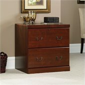 Sauder Heritage Hill 2 Drawer Lateral Wood File Cabinet in Classic Cherry