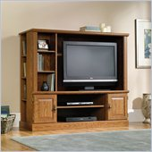 Sauder Orchard Hills Entertainment Center with Shelves