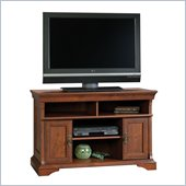 Sauder Arbor Gate Panel Cherry TV Stand