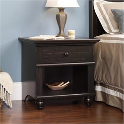 Sauder Harbor View Night Stand in Antiqued Paint