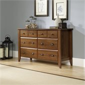 Sauder Shoal Creek Dresser in Oiled Oak