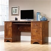 Sauder Computer Desk in Brushed Maple