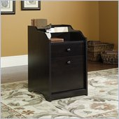 Sauder Edge Water File Cabinet in Estate Black