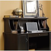 Sauder Edge Water Hutch in Estate Black