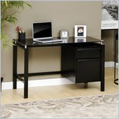 Sauder Lake Point Desk in Black