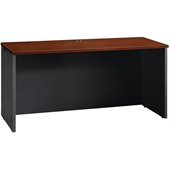 Sauder Via Credenza in Classic Cherry