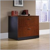 Sauder Via Lateral File in Classic Cherry