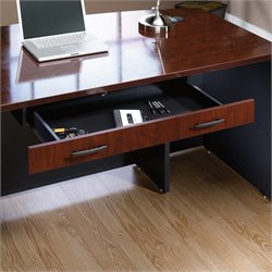 Sauder Via Pencil Drawer in Classic Cherry
