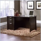 Sauder Aspen Desk in Wind Oak Finish