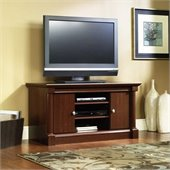 Sauder Palladia Mid Size TV Stand in Cherry Finish