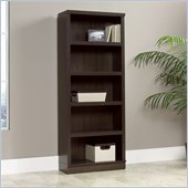 Sauder Homeplus 5 Shelf Bookcase in Dakota oak