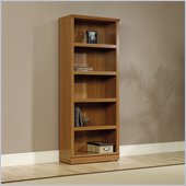 Sauder Homeplus 5 Shelf Bookcase in Sienna Oak