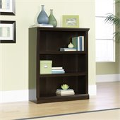 Sauder 3 Shelf Bookcase in Jamocha Wood