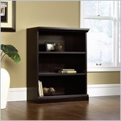 Sauder 3 Shelf Bookcase in Estate Black