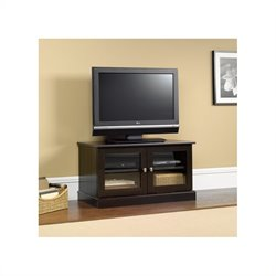 Sauder TV Stand in Cinnamon Cherry