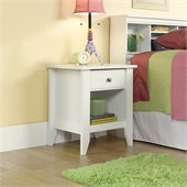 Sauder Shoal Creek Night Stand in Soft White