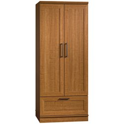 Sauder HomePlus Wardrobe Armoire in Sienna Oak Finish