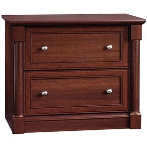 Sauder Palladia Lateral File Cabinet in Cherry
