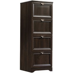 Sauder File Cabinet in Cinnamon Cherry