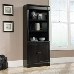 Sauder Avenue Eight 3 Shelf Bookcase in Wind Oak
