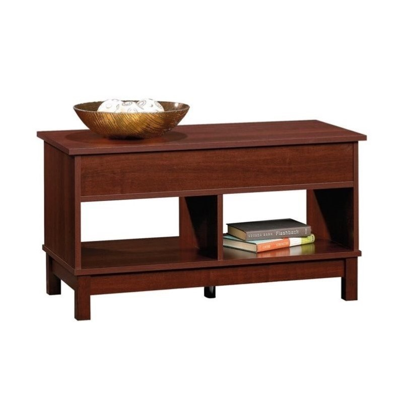 Sauder Kendall Lift Top Coffee Table In Select Cherry Transitional Ebay