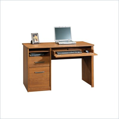Sauder Camber Hill Computer Desk in Sand Pear