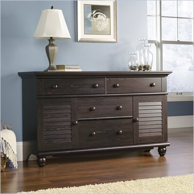 Sauder Harbor View Dresser in Antiqued Paint
