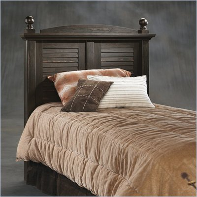Sauder Harbor View Twin Headboard in Antiqued Paint