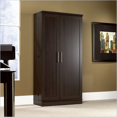 Sauder HomePlus Jumbo Storage Cabinet in Dakota Oak